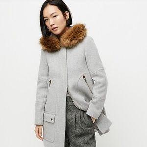 JCREW Italian wool stadium coat